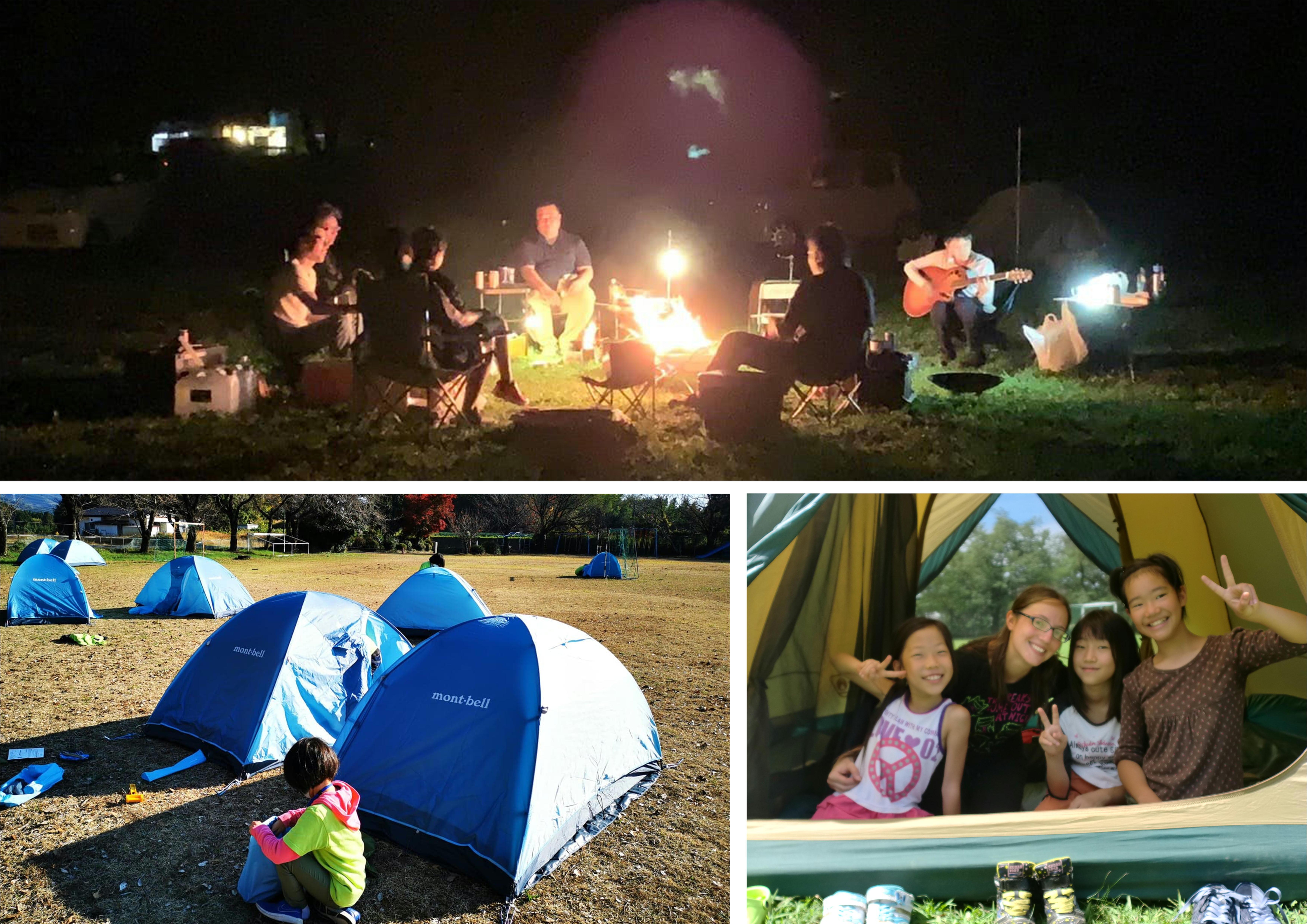 キャンプ(テント泊)
